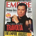Empire Magazine  April 1996 issue 82 Travolta